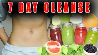 7 day Cleanse | New Year Fitness Challenge
