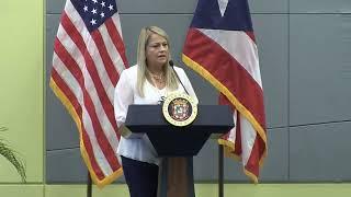 Conferencia de prensa de la Gobernadora