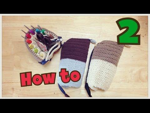 メイク道具やかぎ針などをいれても◎立つペンケースを作ってみよう!