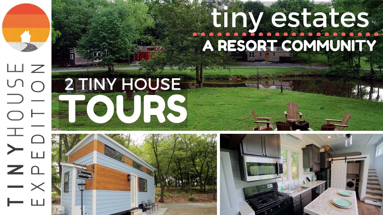 Darling Tiny Houses With Transforming Furniture At Tiny
