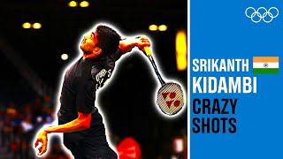 Srikanth Kidambi - Massive Top Shots from Rio 2016!