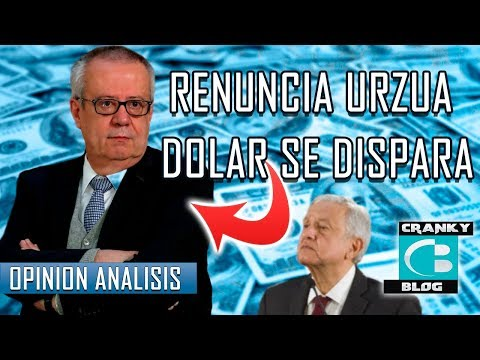 Renuncia Urzua, Secretario De Hacienda. Se Desploma El Peso.