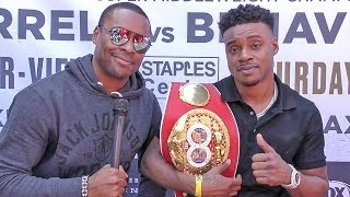 Errol Spence on GLASS JAW Anthony Joshua & DIRTY FIGHTER Shawn Porter
