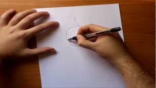 Como dibujar a Bender paso a paso - Futurama | How to draw Bende - Futurama