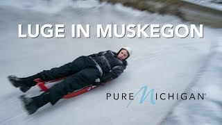 Learn to Luge at Olympic-sized Track in Muskegon  | Pure Michigan