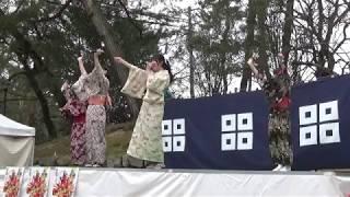 きみともキャンディ 2018.3.3 ライブステージ2部 丸亀城ひめフェスタ.