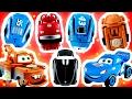 CARROS EGG STARS Disney Pixar: Relâmpago McQueen, Tom Mate, O Rei, Xerife (カーズ ディズニー ピクサー エッグスターズ)