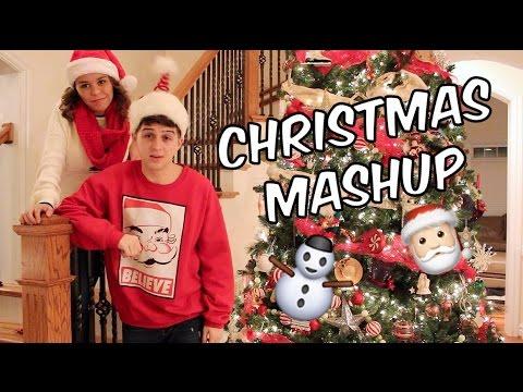 Christmas Mashup Music Video! (All I Want For Christmas is You)