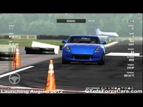 FM 4 TopG Test Track 2010 Nissan 370Z