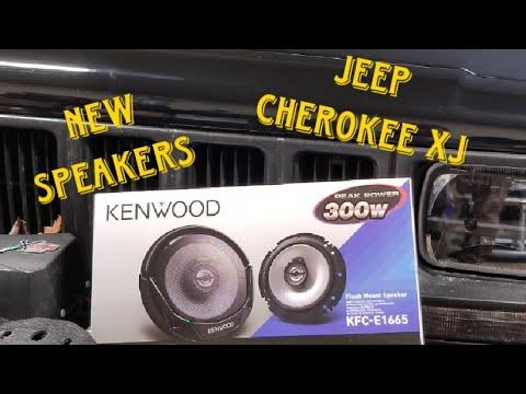 Jeep Cherokee Overland Build - Speakers Upgrade