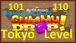 gummy Drop! Конфетки! - Tokyo - Токио Levels  51 - 60, Helping Hand 8, 9 51 - 60 уровень прохождение