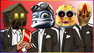 HOUSE HEAD & CRAZY FROG & MINION MONSTER & SCP-173 - Coffin Dance X Baby Shark COVER