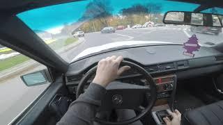 Водіння мій Мерседес W124 з 250 Д інструкція 1989