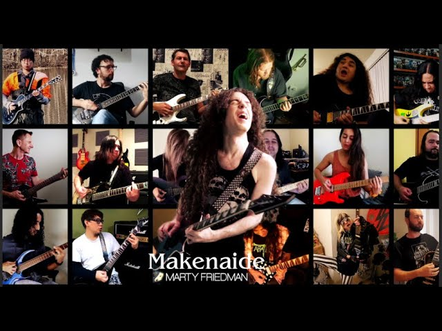 Marty Friedman / 負けないで  Makenaide (Official Music Video)