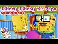 Download Spongebabe Johnny Johnny Yes Papa Nursery Rhyme for Children MP3 song and Music Video