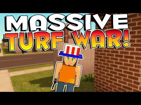 Voxel Turf Game - MASSIVE TURF WAR & BASE IMPROVEMENTS! - Voxel Turf Multiplayer Gameplay