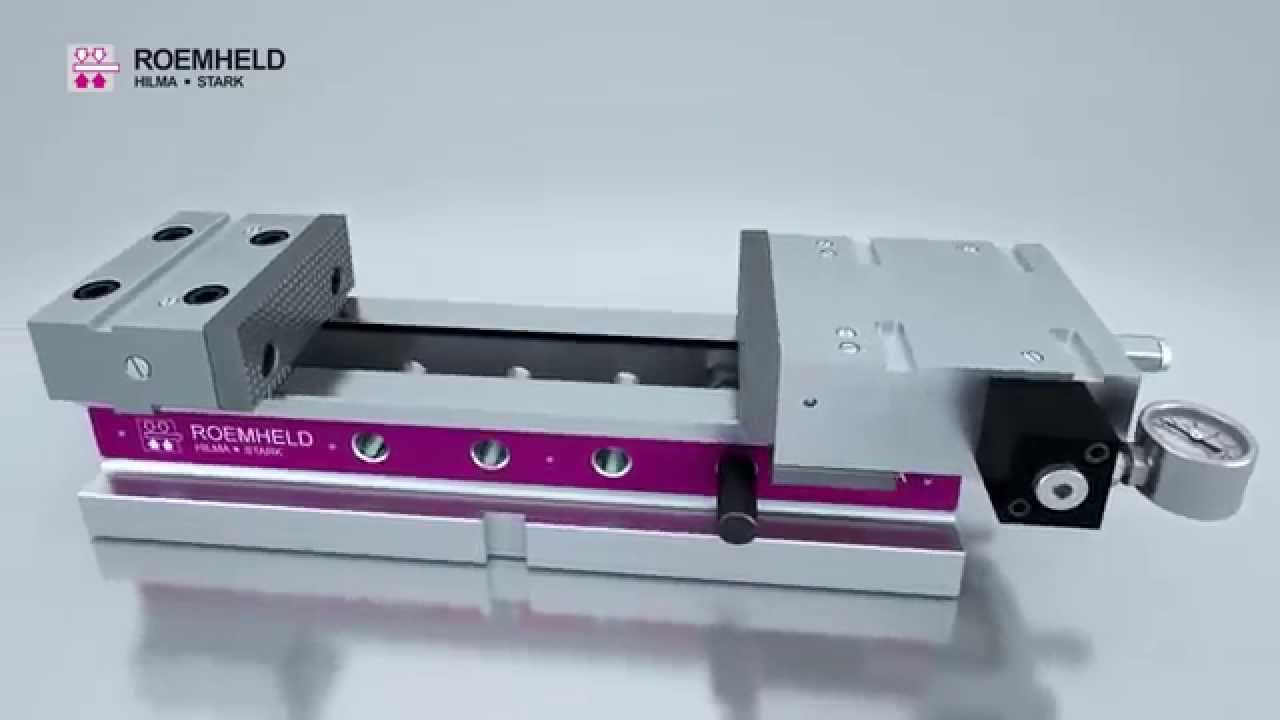 Nc Hydromechanical Cnc Precision Machine Vise Youtube