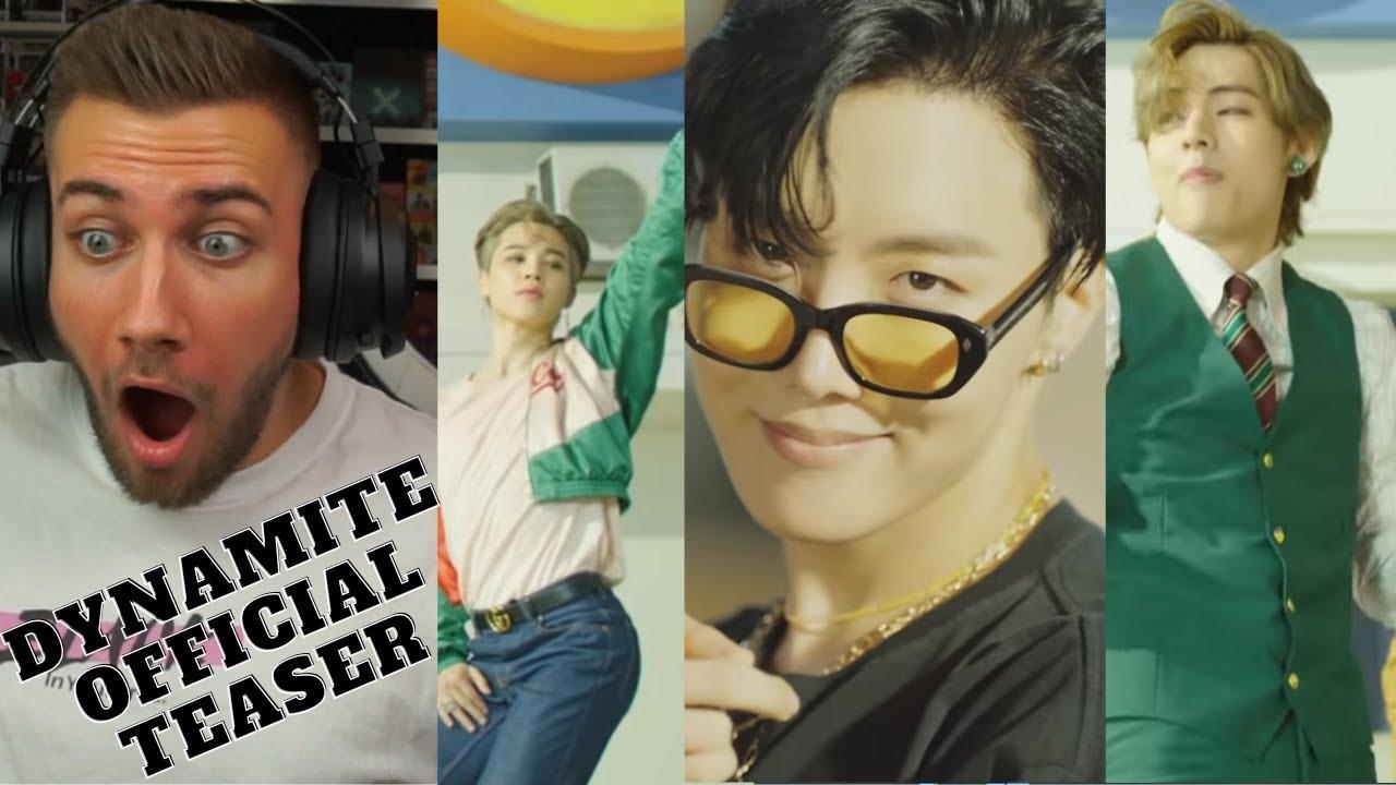 HELP ME!!! ?? BTS (방탄소년단) 'Dynamite' Official Teaser - REACTION - YouTube