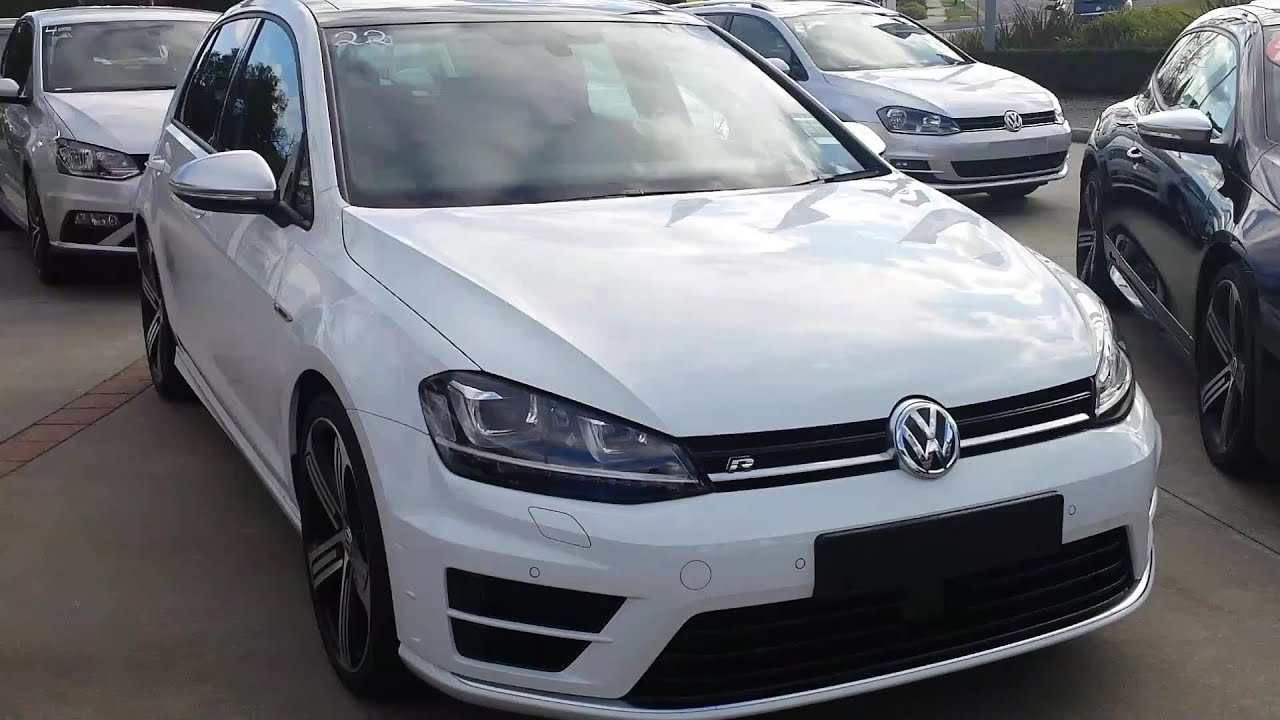 volkswagen golf vii 7 r 2016 in depth tour interior exterior youtube. Black Bedroom Furniture Sets. Home Design Ideas