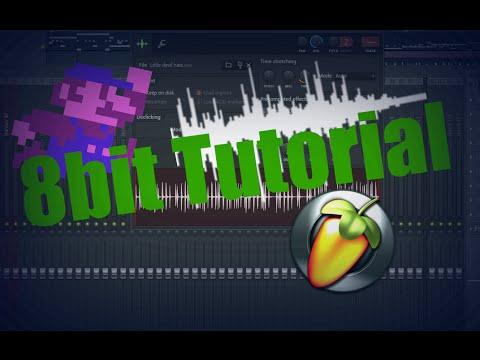 Fl Studio  How to make an 8bit beat Tutorial