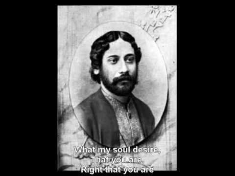 Tagore - AMARO PARANO JAHA CHAI - English Subtitle By SDTZF