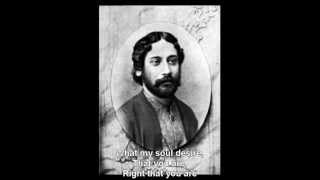 Tagore - AMARO PARANO JAHA CHAI - English subtitle by SDTZF