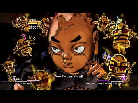 JoJo's Bizarre Adventure: All-Star Battle (PlayStation 3) Arcade as Shigekiyo Yangu