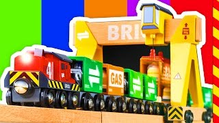 Brio Поезд для детей. Мультик про поезд. Развивающий мультик про поезд для детей 4 лет Поезда
