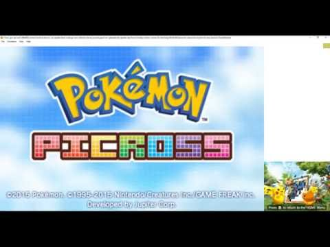 Citra Emulator (CPU JIT) - Pokémon Picross (eShop) [1080p / 60 FPS] - Nintendo 3DS - 동영상