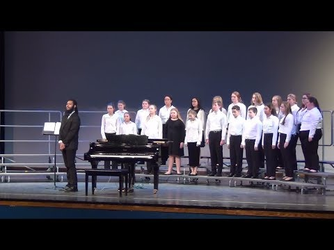 North Dorchester Middle School performs at Eastern Shore Choral Festival 2019