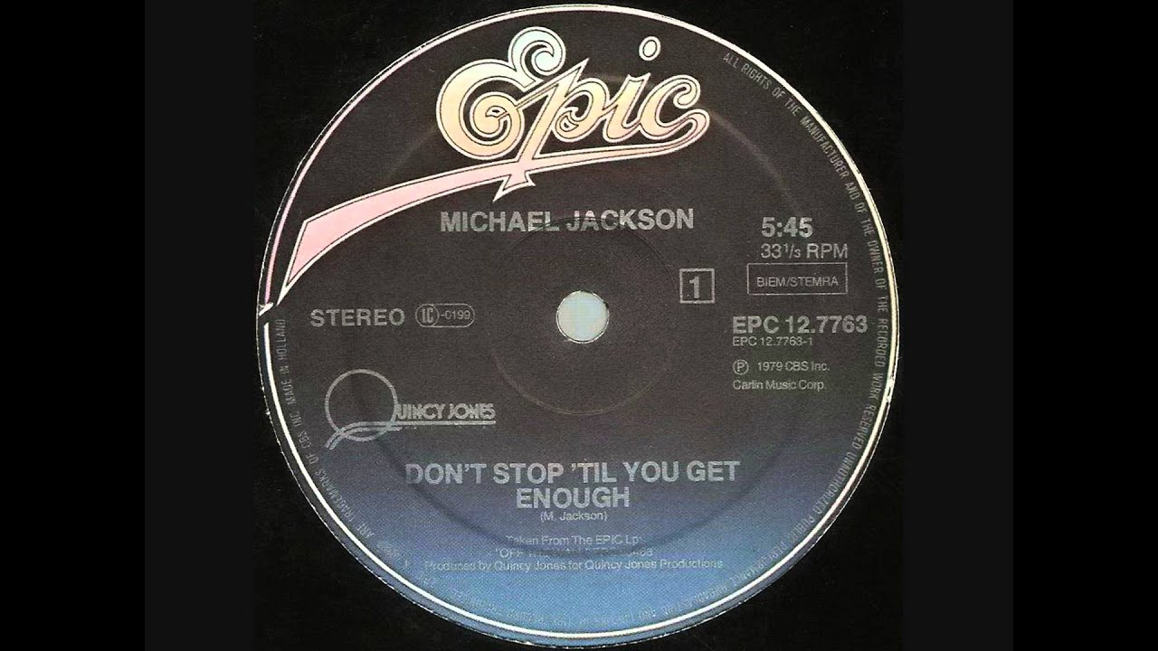 Michael Jackson - Don't Stop 'Til You Get Enough (Dj 'S' Bootleg Dance Re-Mix)