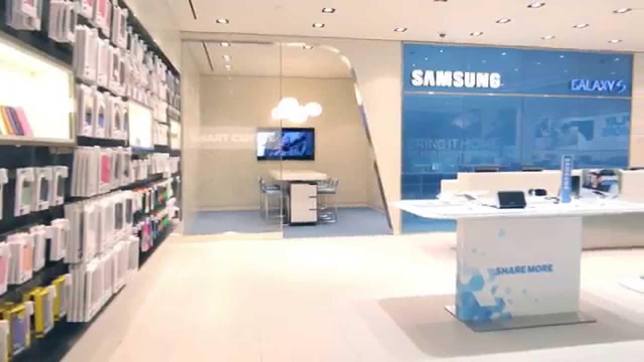 Samsung Store & Cutler | Interior Design - YouTube