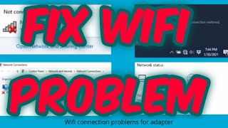windows 10,8,7:How to fix wi-fi connected but no internet access