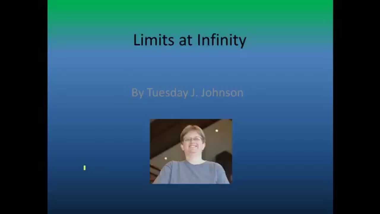 how to find a limit to infinity