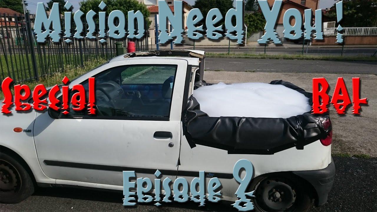 Mission need you sp cial bal transformer une voiture en pisci - Transformer une piscine ...