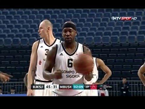 Bobby Brown'dan Muhteşem Performans (Beşiktaş Sompo Japan)
