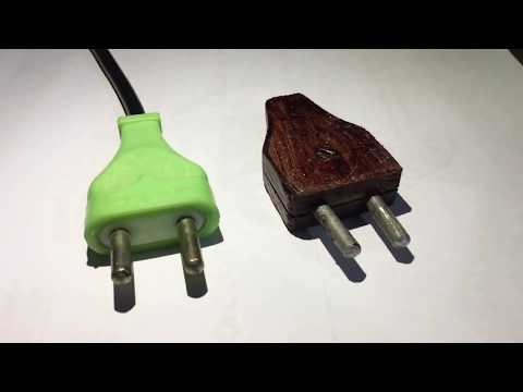 How To Make Electric Plug  | Wooden Electric Plug In