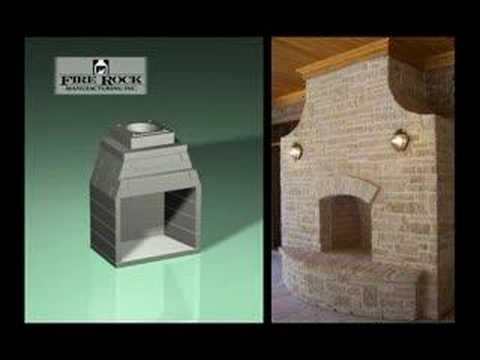 Add an Outdoor Firepalce to create a beautiful outdoor living space using this masonry fireplace kit. Can be assembled in just a few hours. Once completed