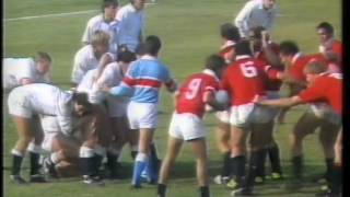 USA vs ENGLAND 1987 Rugby World Cup