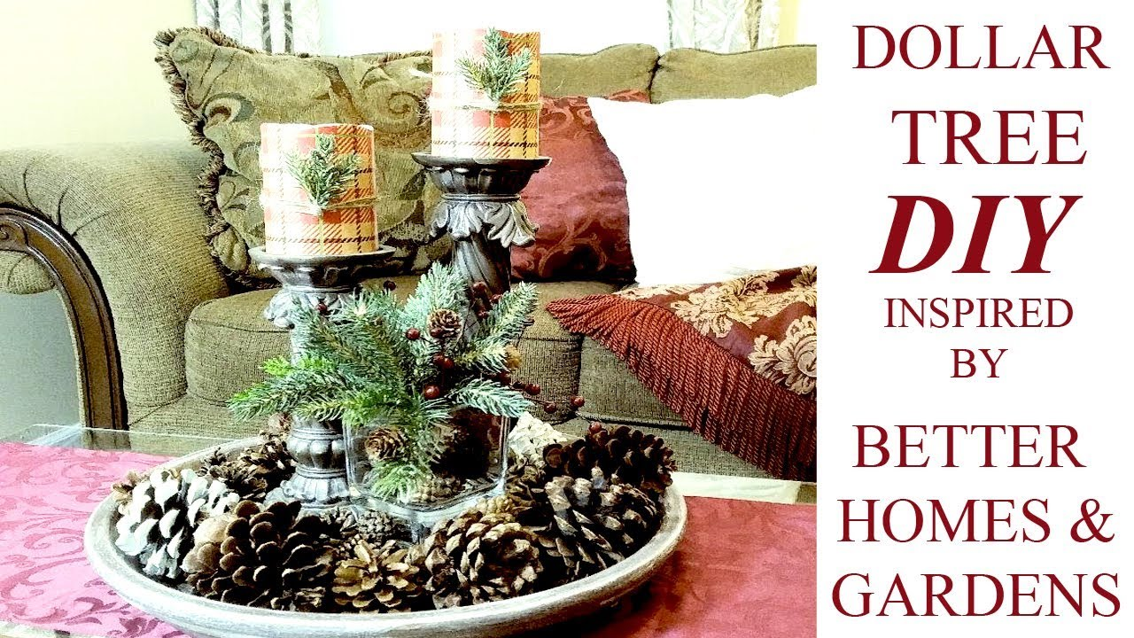 DIY Dollar Tree Christmas Decor Ideas | Better Homes U0026 Gardens Inspired LED  Candles