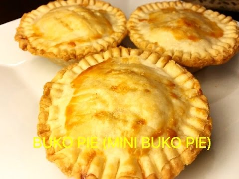How To Make Buko Pie Or Coconut Pie Mini Buko Pie 17 Youtube
