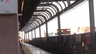 [MHフル〆‼️]名鉄2000系ミュースカイ 2010f(ミュースカイ中部国際空港行き)上小田井駅 通過MHフル〆‼️