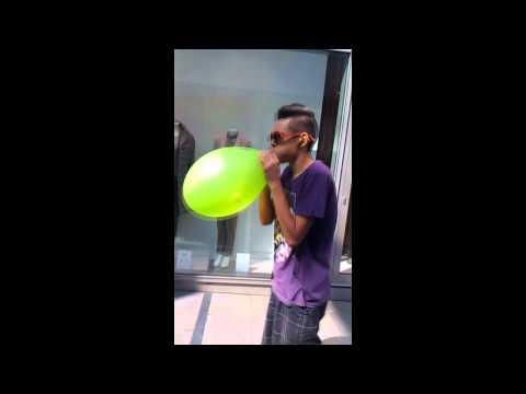 ballon zerplatzen