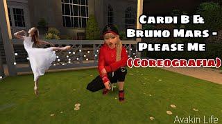 Cardi B & #Bruno #Mars - Please Me (Coreografia) #avakinLife