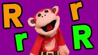 La Letra  R. Clases de Lectura . El Mono Sílabo y Nícola Cavernícola. Videos educativos para niños.