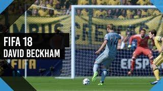 FIFA 18 КАРЬЕРА ЗА ИГРОКА  David beckham #3