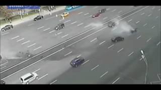 Vladimir Putin's Car Head On Crash Driver Killed