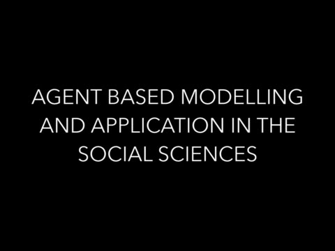 Agent Based Modelling and Application in the Social Sciences