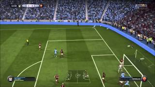 FIFA 15 GAMEPLAY ITA   CHAMPIONS LEAUGE MANCHESTER CITY - ROMA