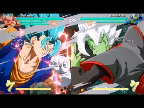 Vegito solo TOD no assists INSTANT KILL touch of death 100% Dragonball fighterz Not fortnite again